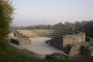 Ruins of the Roman curia.