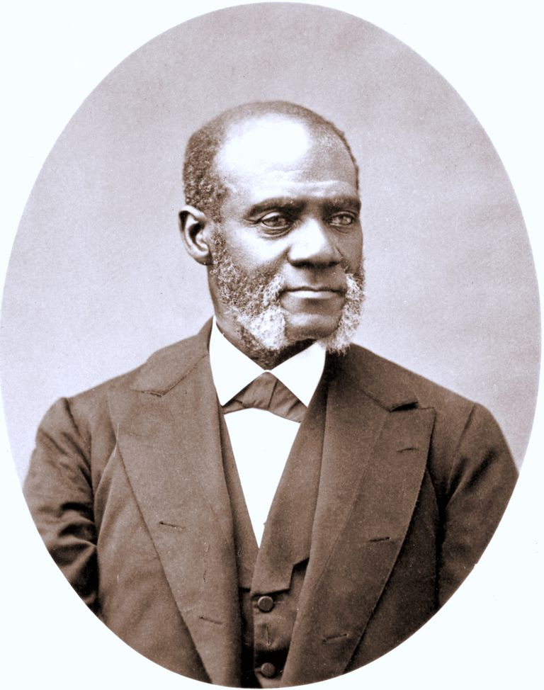 Abolitionist and orator Henry H. Garnet