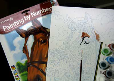 what is painting by numbers