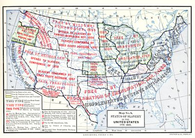 The Missouri Compromise: Background and Map