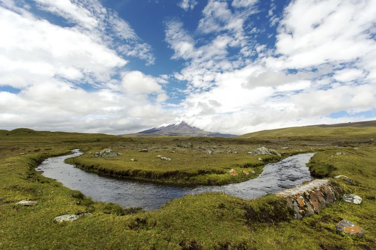 Ecuador, Pichincha, Cotopaxi National Park, Cotopaxi volcano
