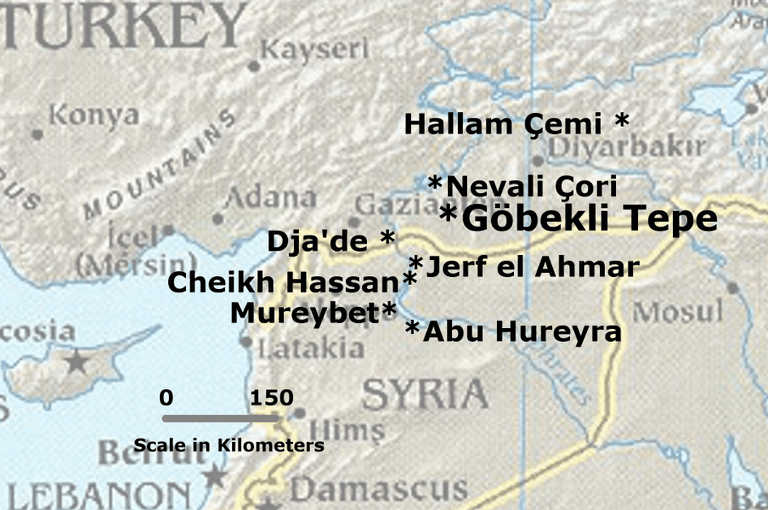 gobekli tepe and other pre pottery neolithic sites in turkey and syria