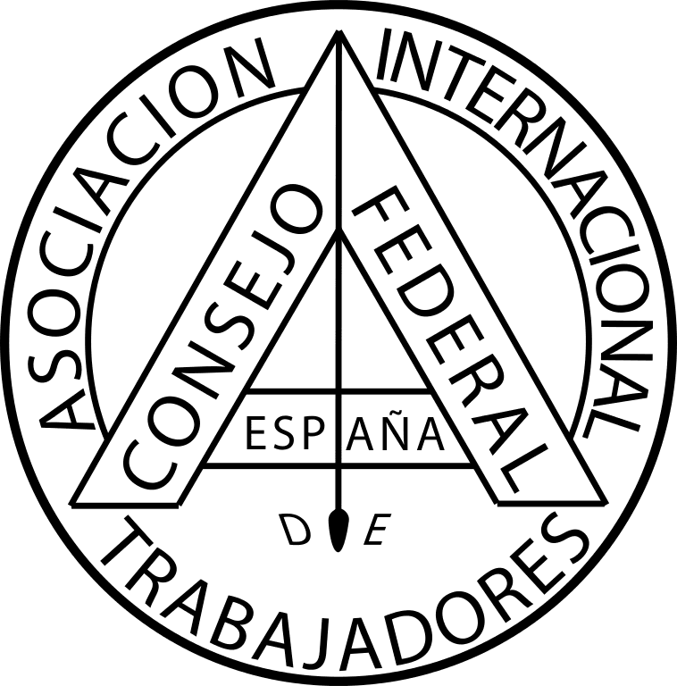 Logo of the Spanish Regional Association of the International Workingmen's Association