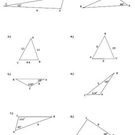 Law of Cosine to Figure Area of a Triangle