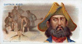 Cigarette Card Captain Kidd