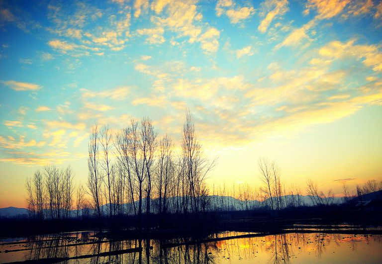 evening view of Kashmir
