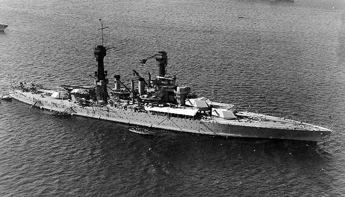 USS West Virginia (BB-48)
