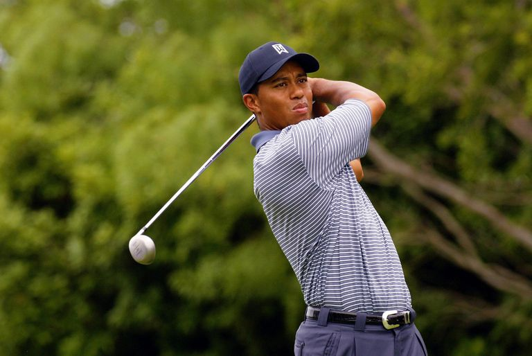 Tiger Woods at the 2004 Byron Nelson Championship