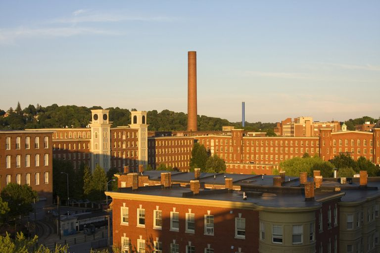 Lowell, Massachusetts factories
