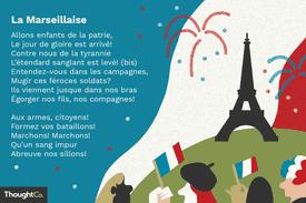 La Marseillaise, the French anthem