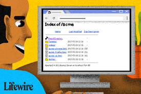Person browsing the Index page of /acme