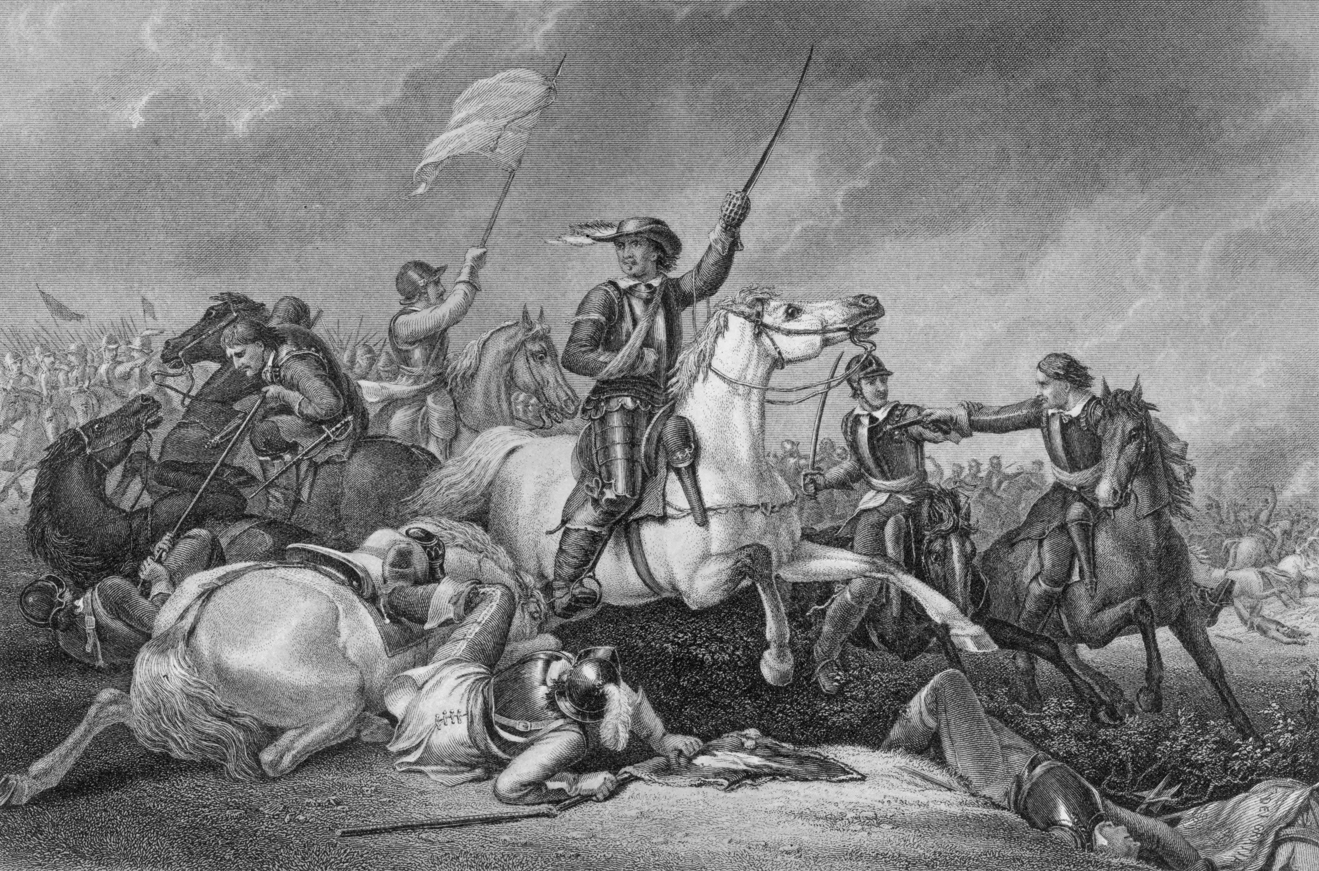 Cromwell In Battle