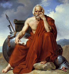 Lycurgus of Sparta portrait by Merry Joseph Blondel