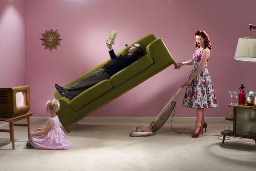 1950's housework