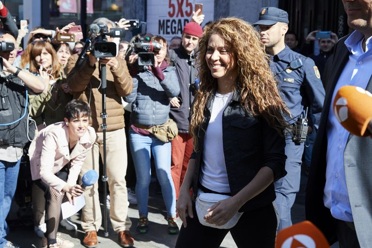 Shakira in Madrid