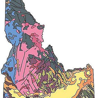 Idaho's rocks