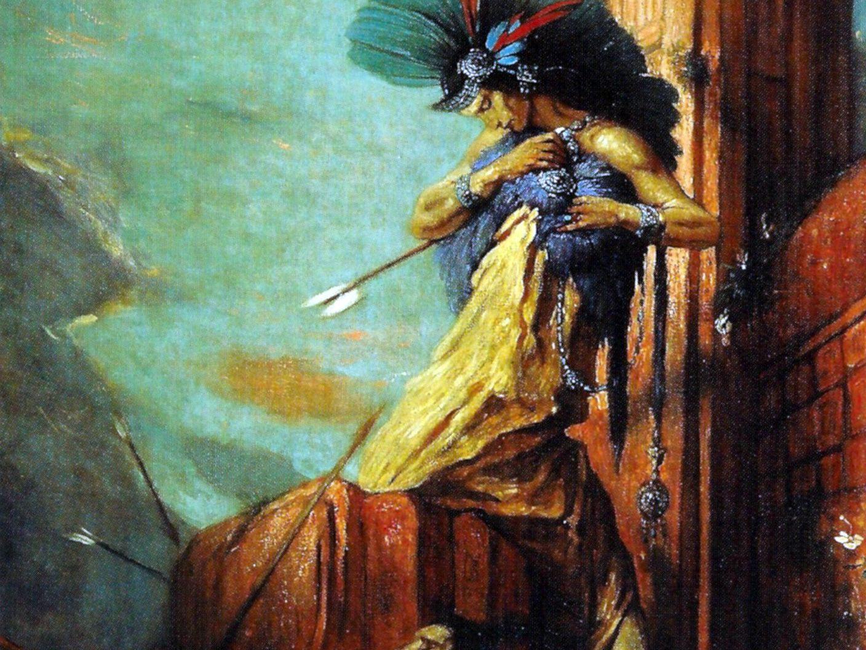 The Death Of Emperor Montezuma