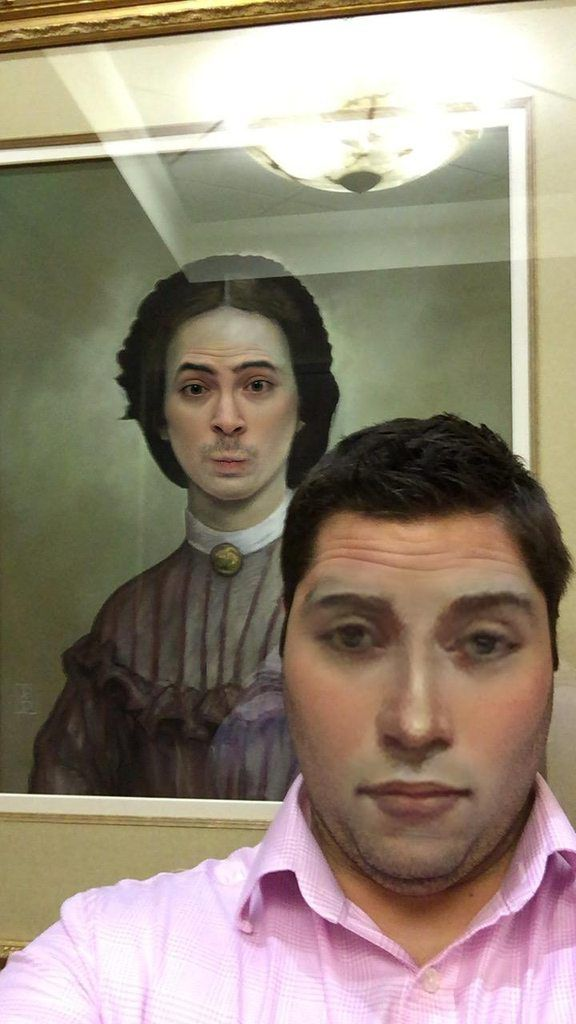 hilarious museum face swaps that are true works of art