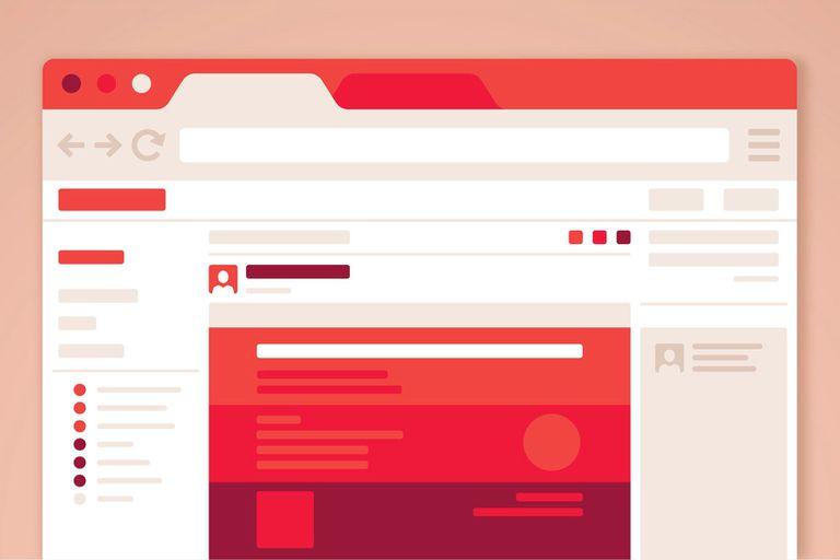 school website Illustration