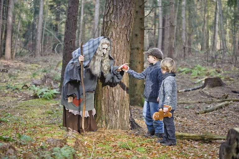 A scene from Hansel and Gretel