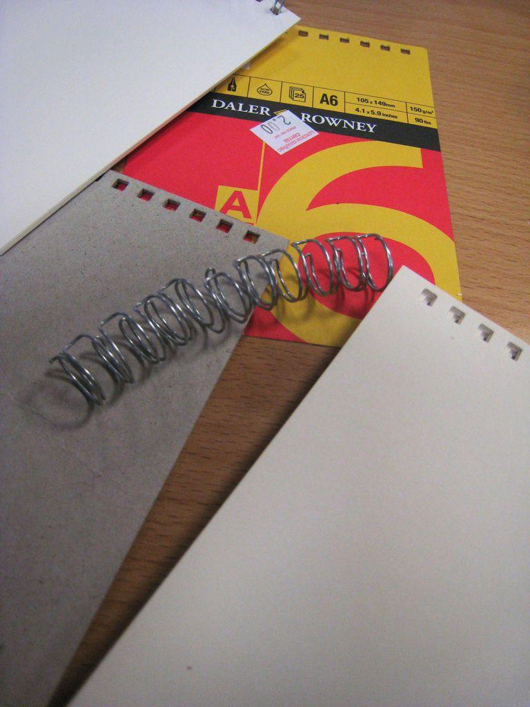 Daler-Rowney, nice quality spiral bound sketchbooks