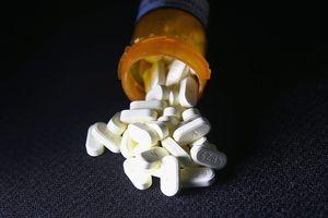 Spilled Pill Bottle