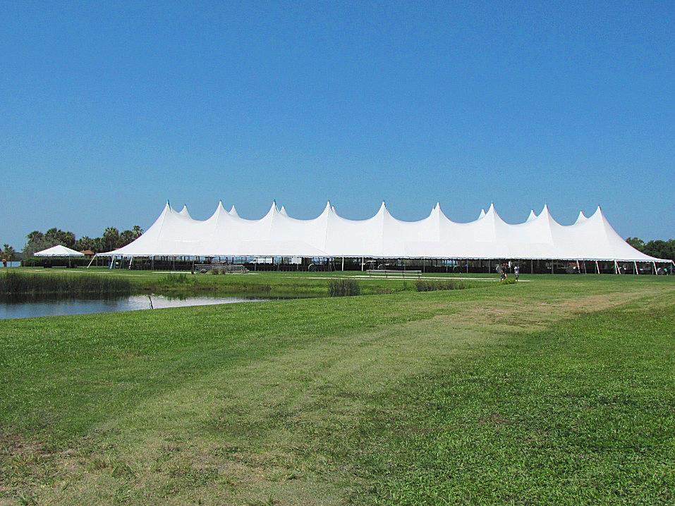 Eckerd College Graduation Tent
