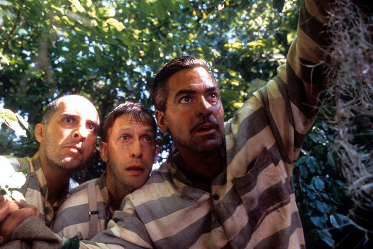 John Turturro And George Clooney In 'O Brother, Where Art Thou?'
