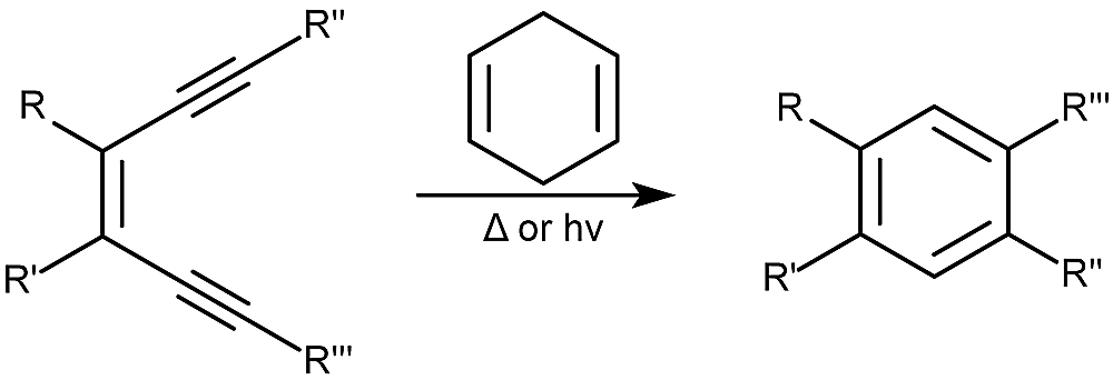 This is an example of the Berman cycloaromatization reaction.