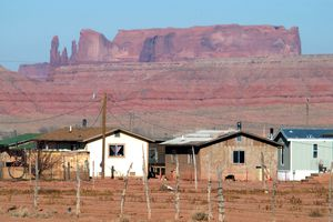The Navajo Nation Indian reservation