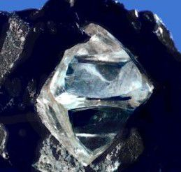 Rough Octohedral Diamond Crystal