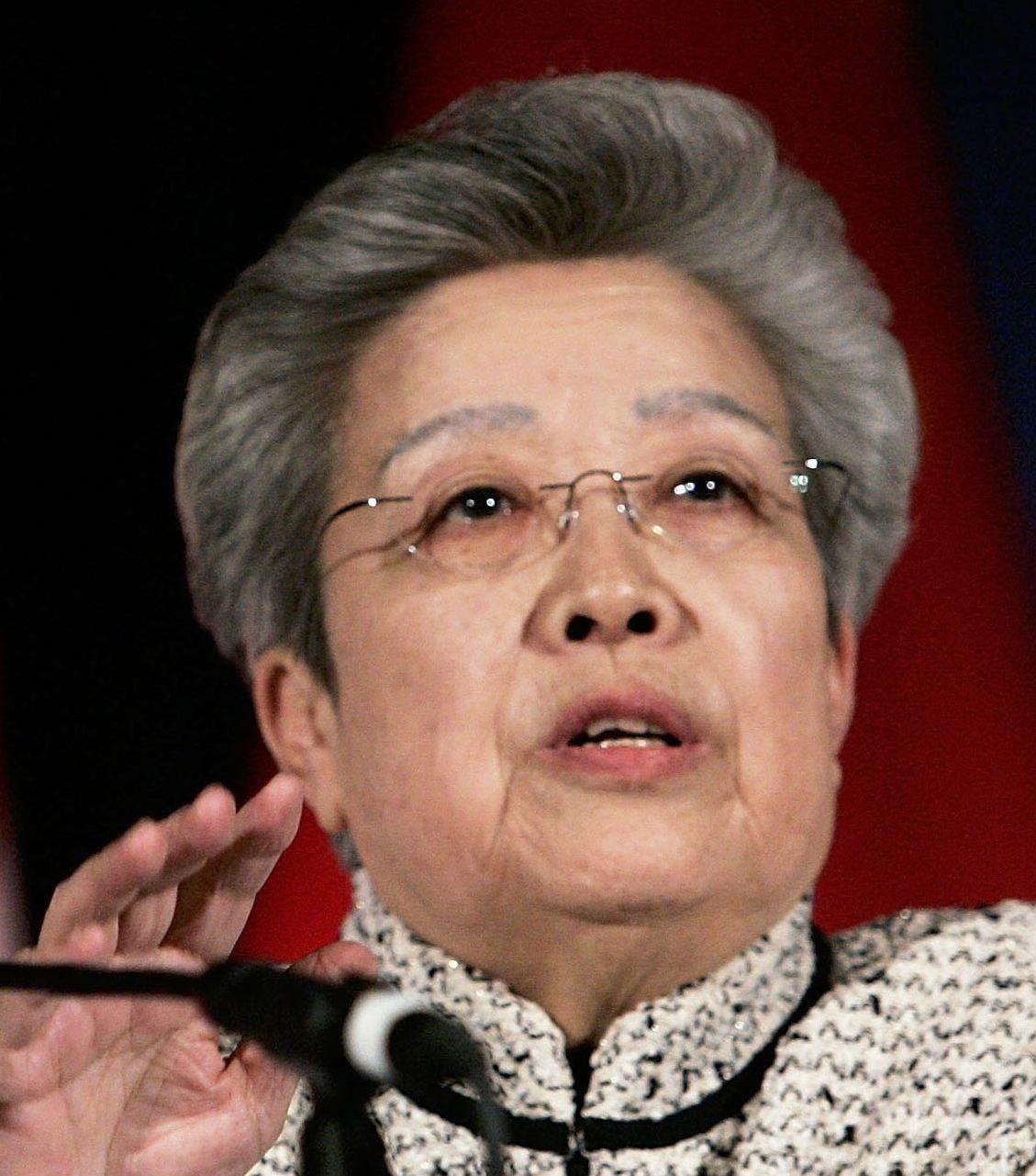 Wu Yi April 2006