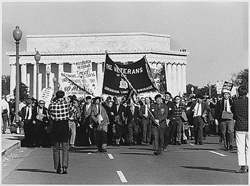 Veterans march against the Vietnam War, Washington D.C. (1967)