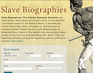 Slave Biographies: The Atlantic Database Network