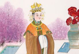 Chinese historical female emperor in Tang Dynasty, Empress Wu Zetian
