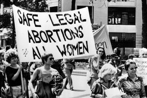 Abortion Protest March