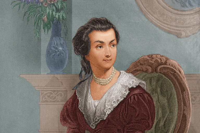 Abigail Adams in Her Youth