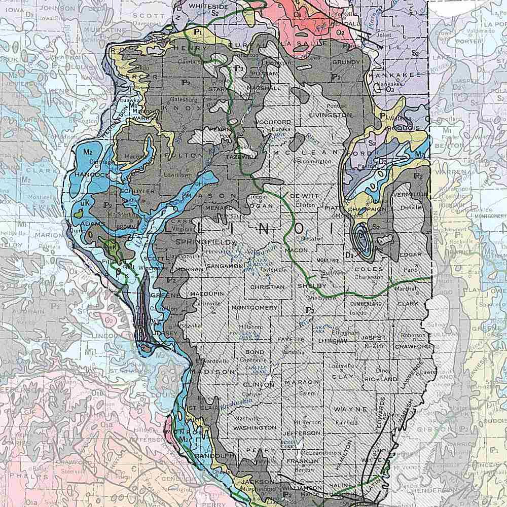 Illinois's rocks