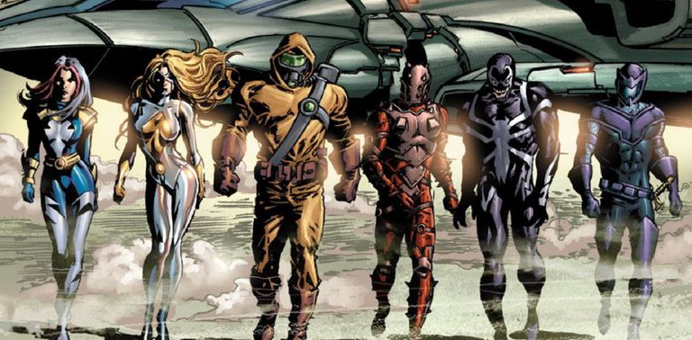 Thunderbolts by Mike Deodato, Jr. and Rain Beredo