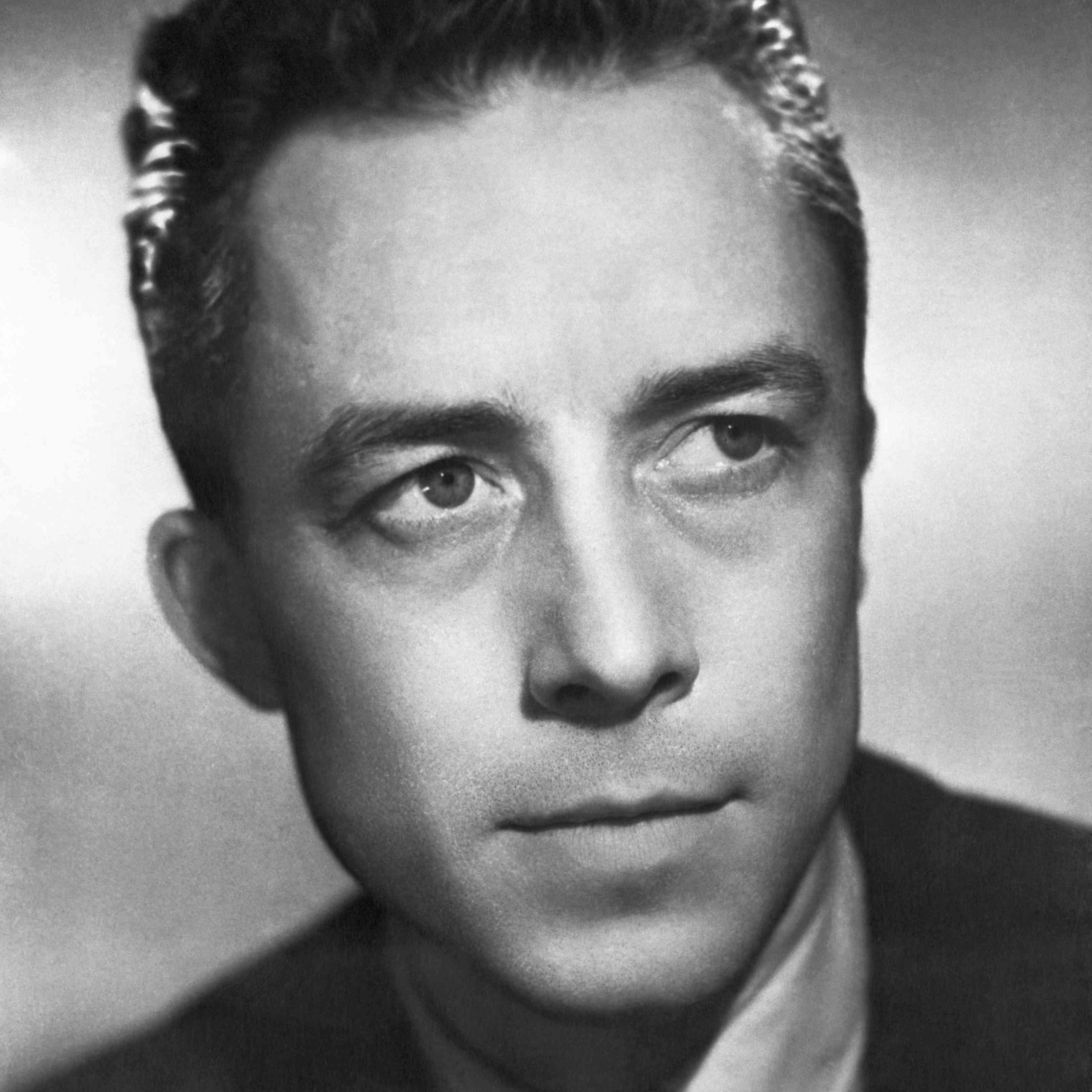 El autor ganador del premio Nobel Albert Camus