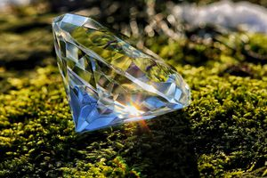 The Refractive Index of a Diamond Is an Intensive Property.
