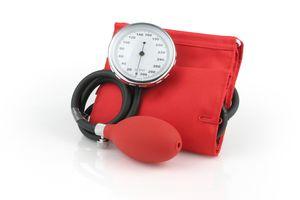 A sphygmomanometer or blood pressure gauge is a familiar type of manometer.