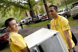 Move-In Day at Nazareth College