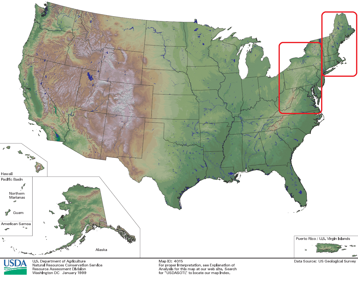 How Geography Shapes Us Regional Weather - Map-of-us-regions