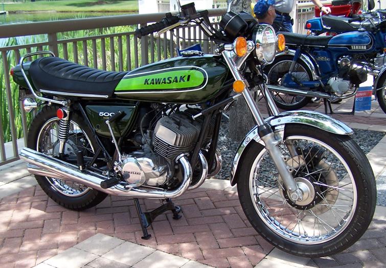 The Kawasaki 500 H1 Mach 111.