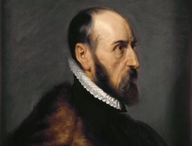 Portrait of Abraham Ortelius (1527-1598)