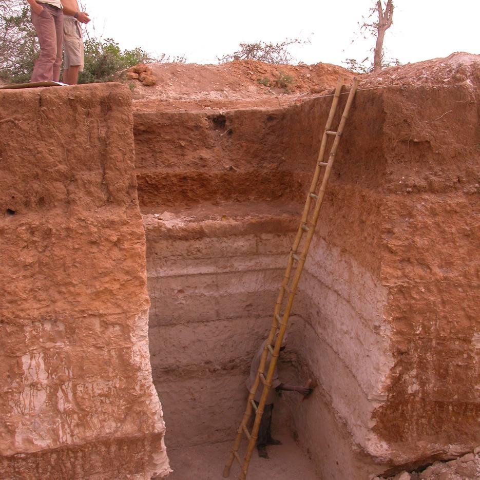 Toba Ash Deposit Excavated at Jwalapuram in Southern India