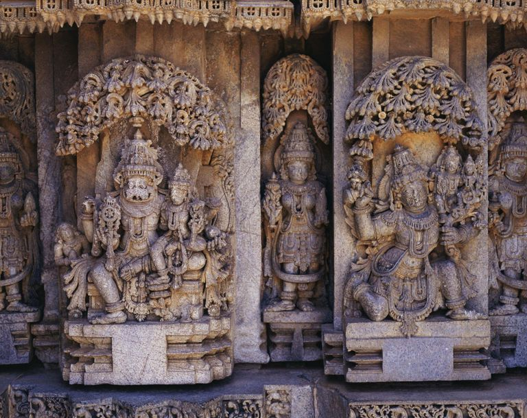 Hindu stone carving