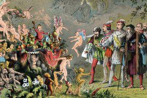 Scene from Shakespeare's The Tempest, 1856-1858. Artist: Robert Dudley