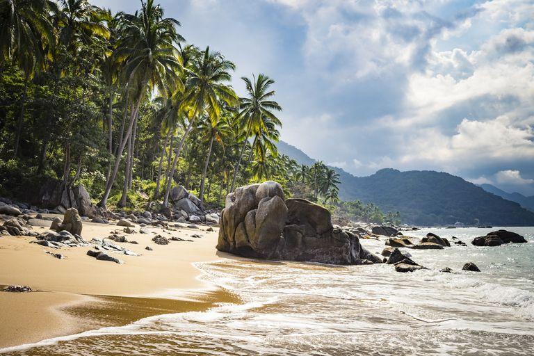 Beach near Puerto Vallarta, Mexico